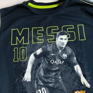 c538f815eae FC Barcelona Shirts   Tops - Lionel Messi kids T-shirt size Large
